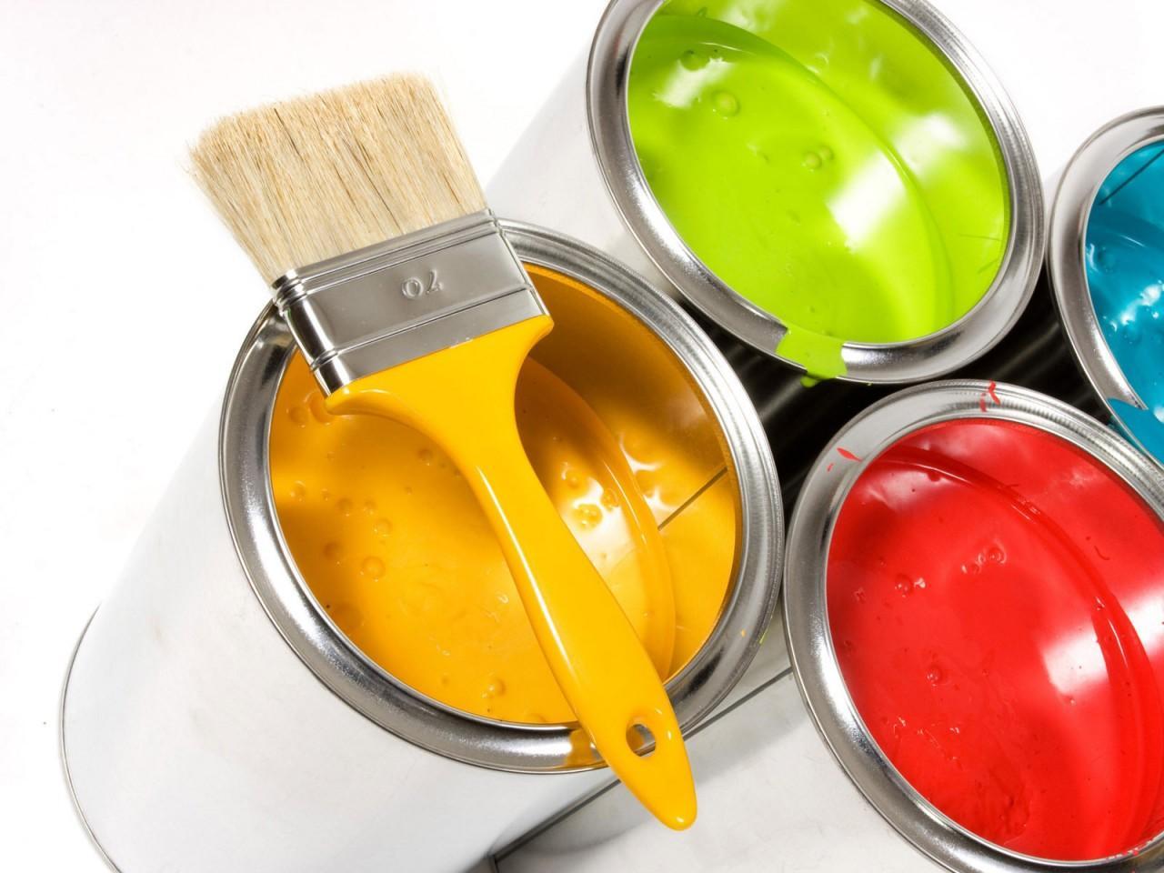 Банки алкидной краски