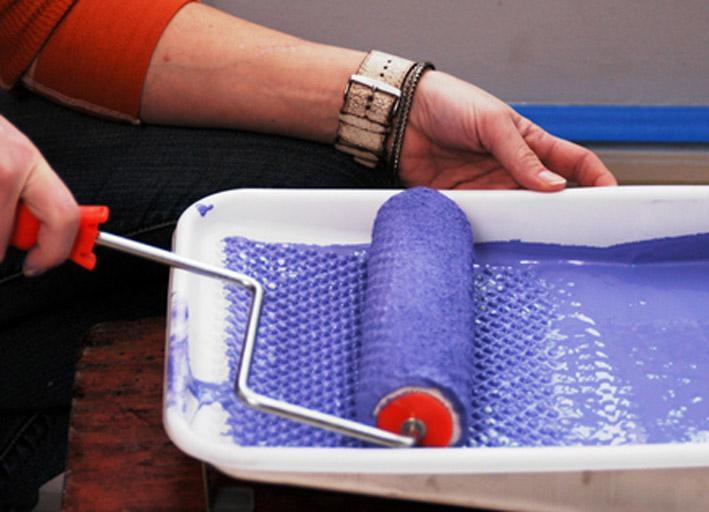 лоток для краски с валиком