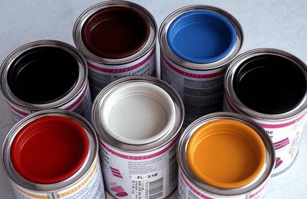 Порошковые и эмалевые краски