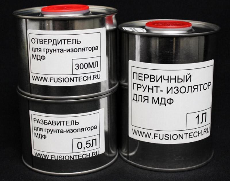 Полиуретановая грунтовка для МДФ