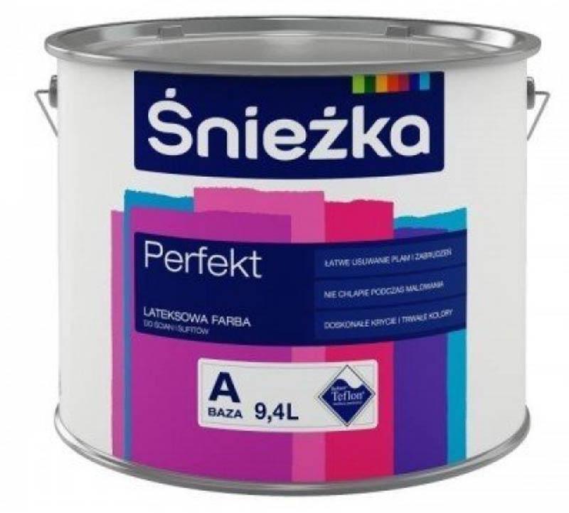 Краска для стен и потолков от Sniezka