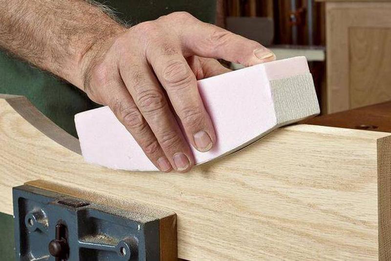 Шлифовальная колодка для обработки вогнутых поверхностей большого радиуса