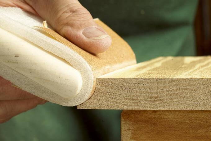 Шлифовальная колодка для обработки вогнутых поверхностей малого радиуса