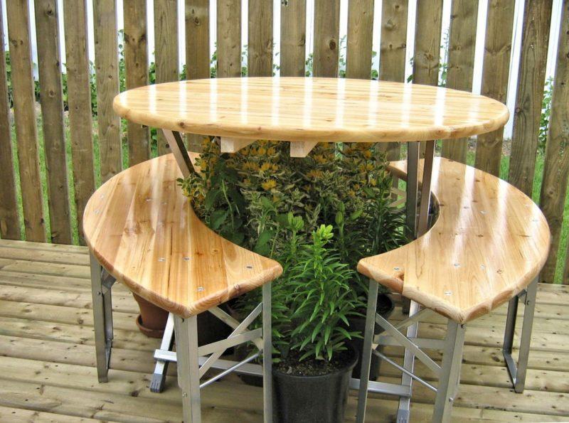 Полированные деревянные поверхности