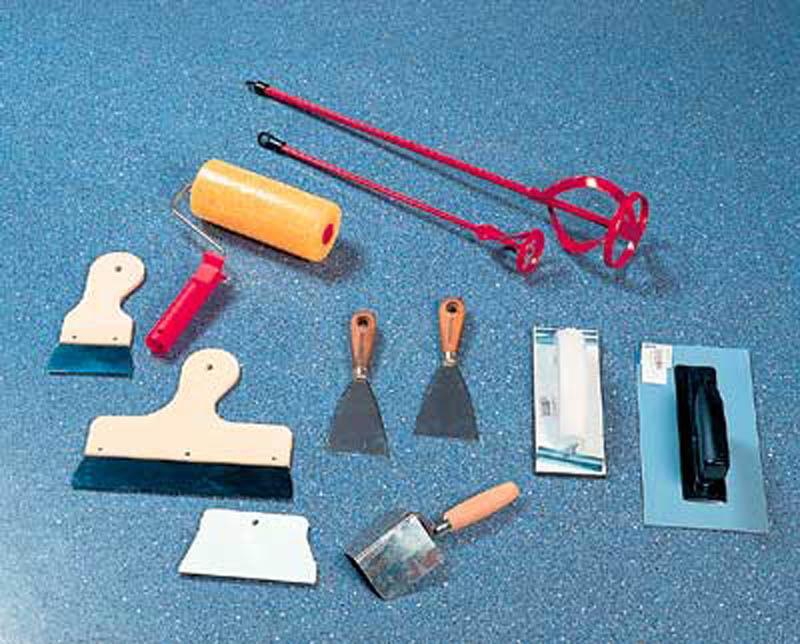 Инструменты для шпаклевания стен