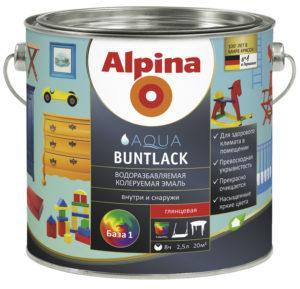 Alpina Aqua Buntlack