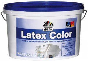 Латексная краска фирмы DUFA