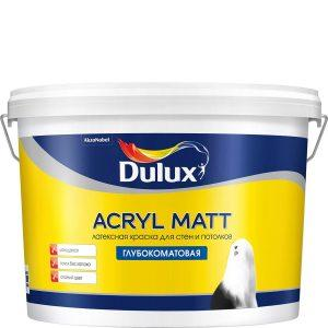 Акриловая латексная краска фирмы Dulux