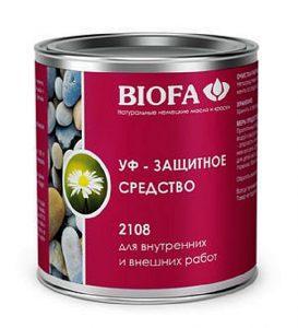 Немецкая разработка УФ-защиты «Biofa 2108»